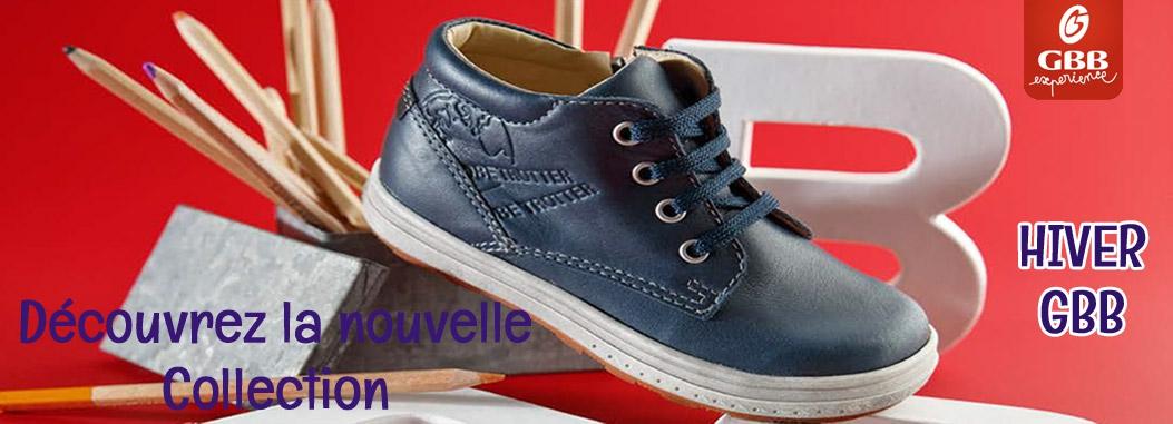 La nouvelle collection de chaussures enfant Automne/Hiver GBB est arrivée
