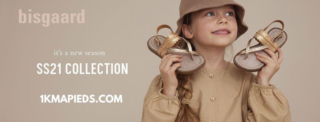La nouvelle collection de chaussures enfant Bisgaard