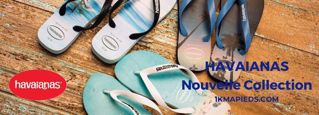 Nouvelle collection de chaussures enfant Tong Havaianas
