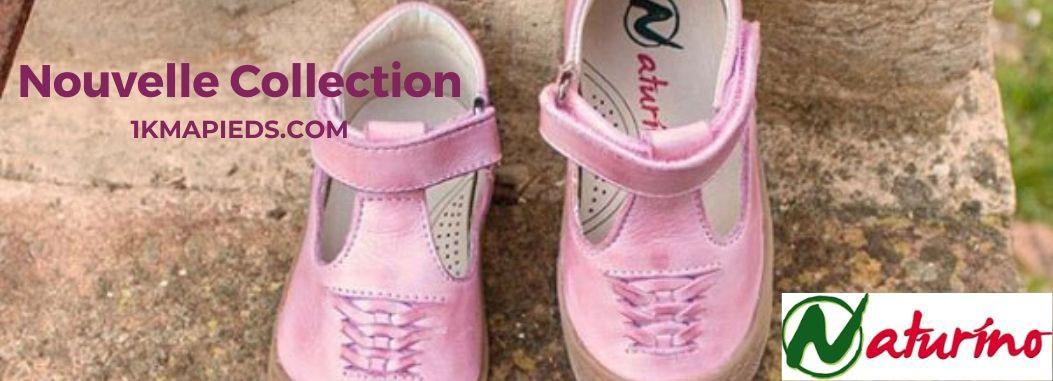 nouvelle collection de chaussures enfant Naturino