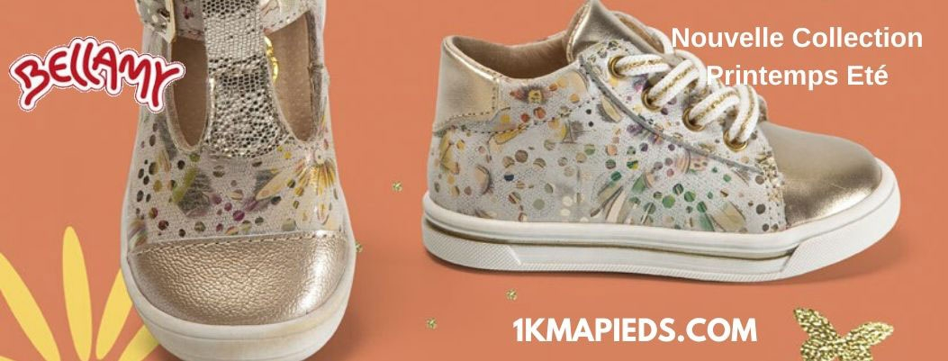 nouvelle collection de chaussures enfant Bellamy