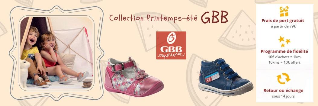 La nouvelle collection Printemps/été GBB est arrivée